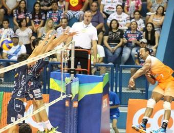 Vôlei Taubaté x Canoas Superliga Masculina (Foto: Rafinha Oliveira/Funvic Taubaté)