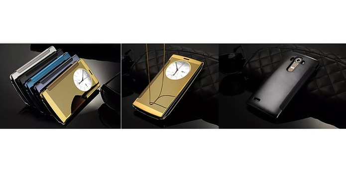 Capa com design espelhado para LG G4 (Foto: Divulgação/Flipwallet)