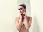 De topless, Ana Beatriz Barros avisa: 'Só falta conquistar é uma família'