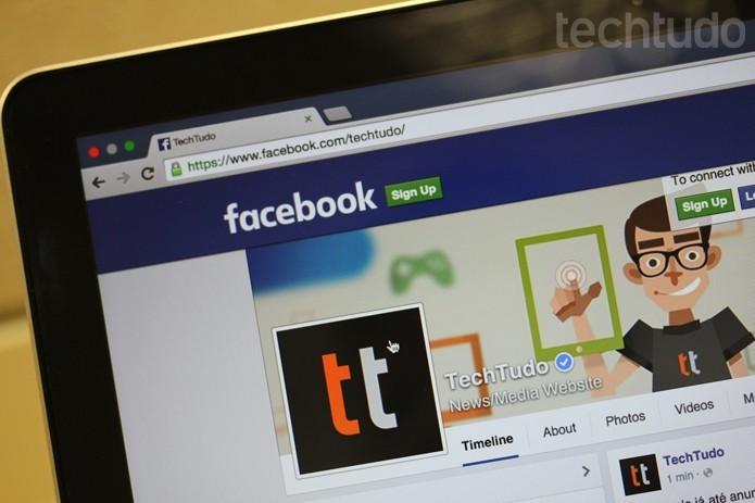 Facebook tem o objetivo de exibir posts que considerada interessante aos seus usuários de acordo com suas atividades na rede social (Foto: Melissa Cruz/TechTudo)