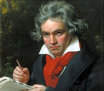 Ludwig van Beethoven em retrato feito por Joseph Karl Stieler, em 1820 (Foto: Reprodução/Wikipedia)