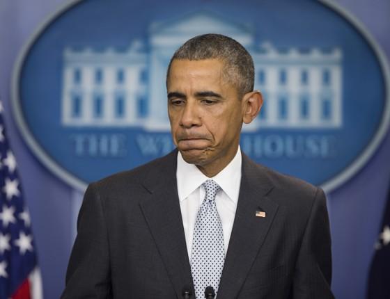 O presidente Barack Obama se pronunciou sobre os ataques em Paris nesta sexta-feira (Foto: AP Photo/Evan Vucci))