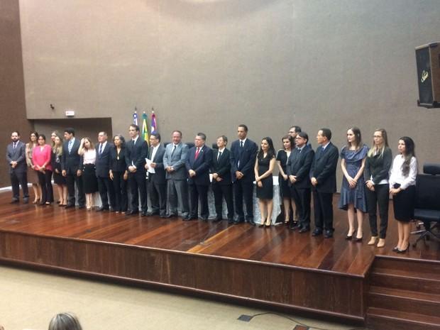 Juizes Bahia (Foto: Alan Oliveira/ G1)