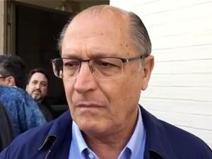 Governador Geraldo Alckmin (Foto: Reprodução/TV Fronteira)
