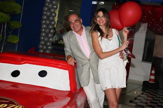 Luciana Gimenez e o marido, Marcelo de Carvalho (Foto: Manuela Scarpa / Foto Rio News)
