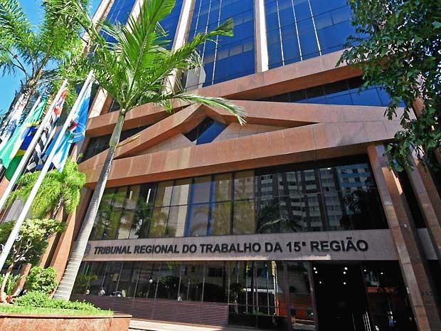 O TRT-15, em Campinas (Foto: Denis Simas / TRT 15)