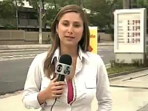 video daniela branches reporter globo