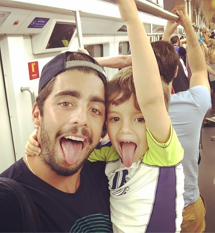 Pedro e Dom (Foto: Reprodução/Instagram)