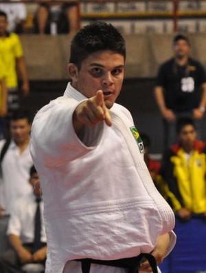 Delan Monte, judoca paraibano (Foto: Divulgação / CBJ)