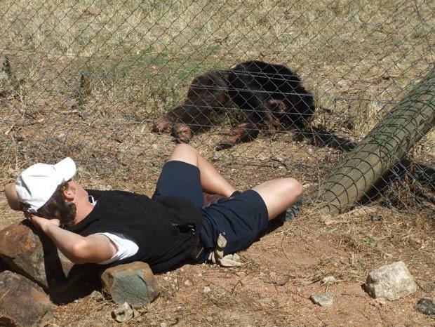 Andrew Oberle está na África do Sul trabalhando como voluntário. (Foto: Reprodução/Facebook)