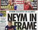 Jornal: United foi quem fez proposta citada por pai de Neymar na Justiça