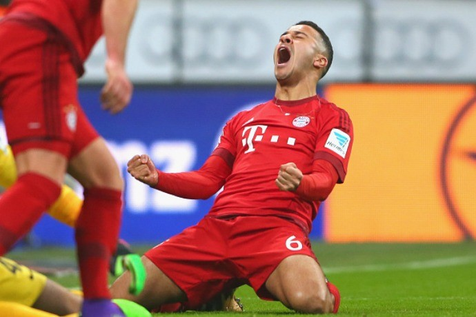 Thiago Alcântara Bayern de Munique Werder Bremen (Foto: Getty images)