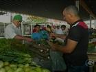 Verduras e legumes ficam mais caros nas feiras livres de Petrolina, PE