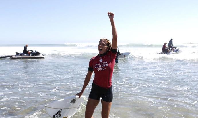 Stephanie Gilmore campeã WCT de Trestles (Foto: Divulgação / ASP)