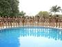 Miss Brasil 2016: candidatas  participam de prova de biquíni, em SP