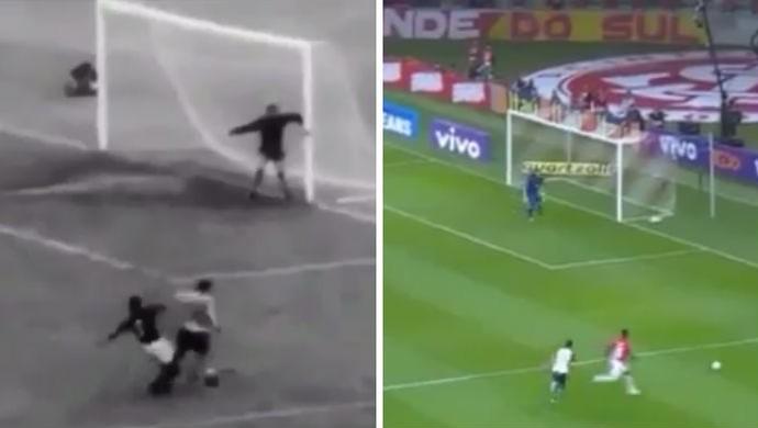 Internacional Inter Paulão Garrincha (Foto: Montagem sobre fotos/Divulgação Inter)