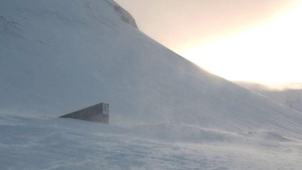"""Silo Internacional é espécie de """"cofre"""" criado para suportar condições ambientais extremas  (Foto: BBC)"""