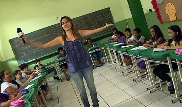 Nada de lição de casa? (Foto: Reprodução/TV Vanguarda)
