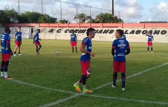 Em Maceió, elenco do Bahia treina e finaliza preparação para pegar o CRB