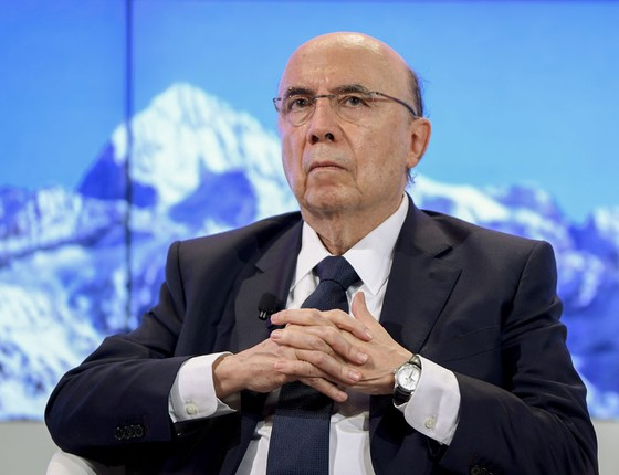 O ministro da Fazenda Henrique Meirelles (Foto:  FABRICE COFFRINI/AFP)