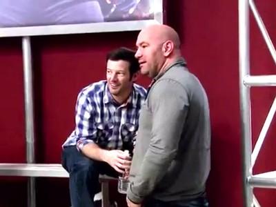 Dana White conversa com Sean Shelby sobre Majú - Frame TUF (Foto: Reprodução)
