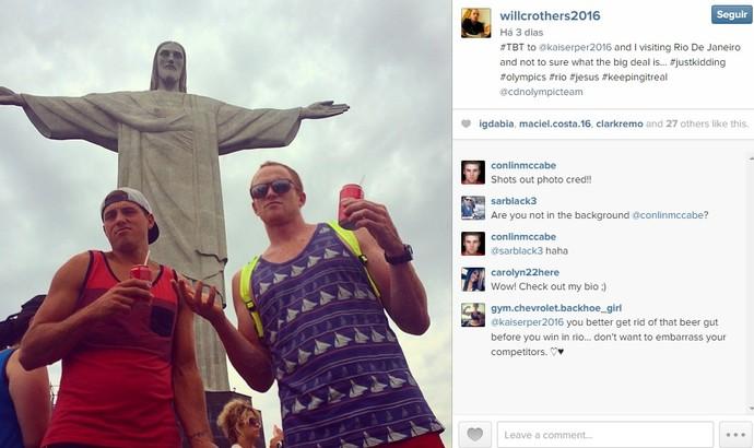 Cristo Remo  (Foto: Reprodução Instagram)