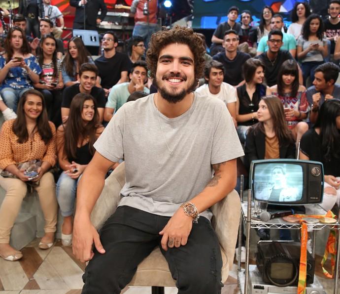 Caio Castro conta bastidores da novela 'I Love Paraisópolis' (Foto: Carol Caminha/Gshow)