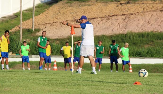 Nacional treino (Foto: Klauson Dutra/Nacional FC)