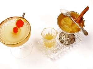 Drink leva vodka sabor pera e vermute de abacaxi. (Foto: Murillo Tinoco / Divulgação Grey Goose)