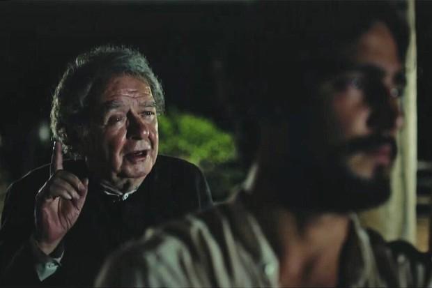 """Umberto Magnani e Renato Goés em cena de """"Velho Chico"""" (Foto: Reprodução / Instagram)"""
