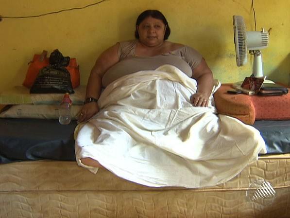 Raimunda Santos mora no bairro de Canabrava (Foto: Reprodução/ TV Bahia)