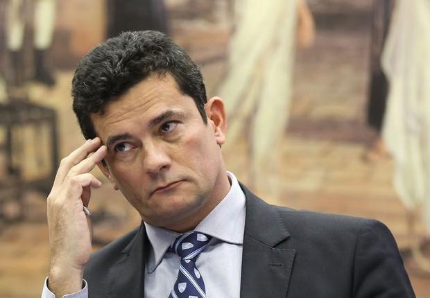 Sérgio Moro, em audiência na Câmara (Foto: Marcelo Camargo/Agência Brasil)