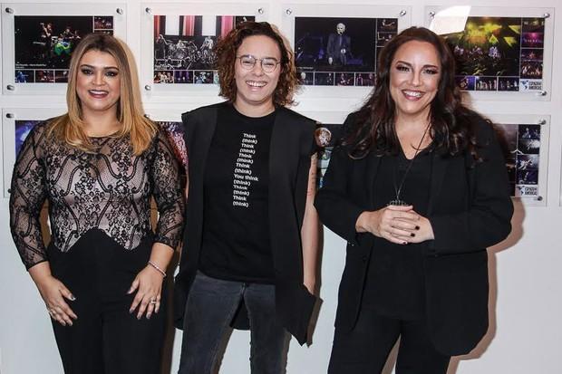 Preta Gil, Maria Gadú e Ana Carolina (Foto: Raphael Castello/AgNews)