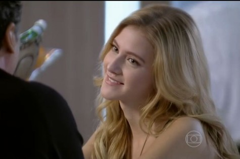 Hanna Romanazzi em cena como Sofia de 'Malhação' (Foto: TV Globo)