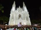 Romaria dos Homens leva 700 mil fiéis às ruas na Festa da Penha