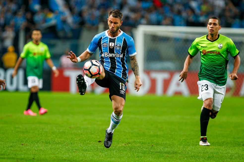Gata Fernández deve deixar o Grêmio (Foto: Lucas Uebel / Grêmio, DVG)
