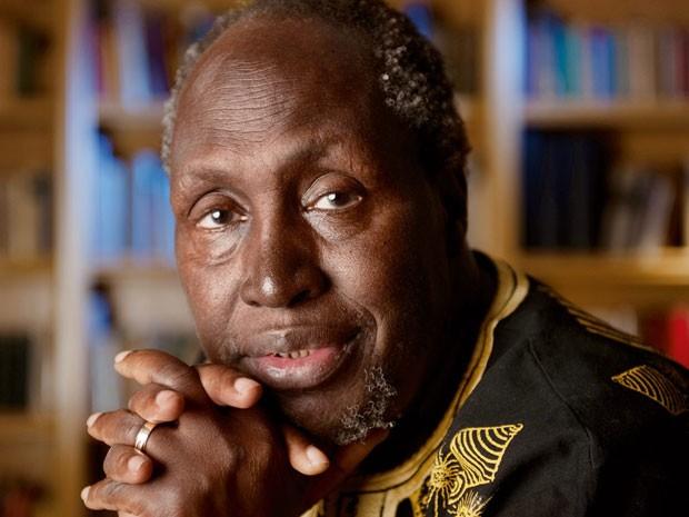 O escritor queninano Ngũgĩ wa Thiong'o que vem para a Flip 2015 (Foto: Divulgação)