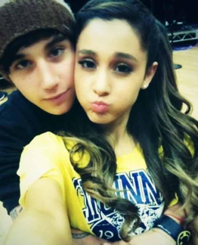 Ariana Grande e Jai Brooks (Foto: Instagram)