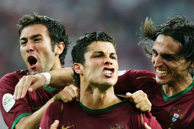 Cristiano Ronaldo 2006 (Foto: Getty Images)
