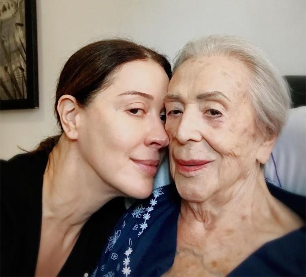 Claudia Raia e a mãe, Odete Raia (Foto: Reprodução/Instagram)
