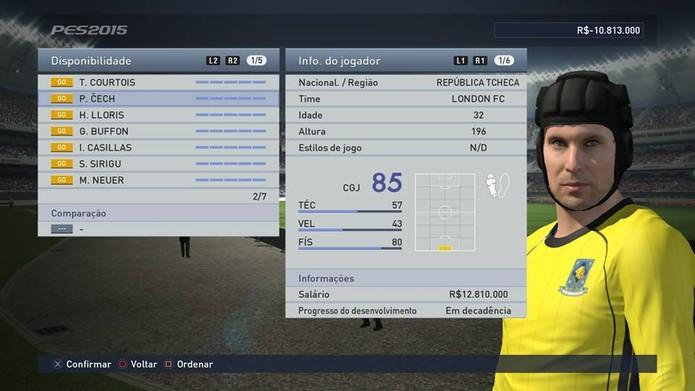 Cech é um goleiro que está no auge há muito tempo (Foto: Reprodução/Thiago Barros)