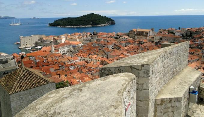 Dubrovinik cidade Croácia (Foto: Alexandre Lopes)
