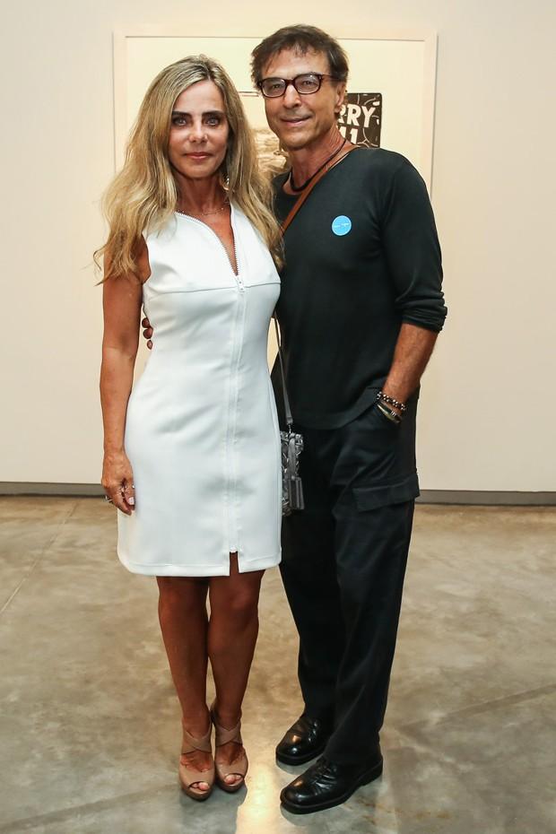 Bruna Lombardi e Carlos Alberto Riccelli (Foto: Manuela Scarpa/Foto Rio News)