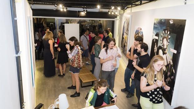 Boiler Galeria expõe obras do curitibano Felipe Scandelari (Foto: Divulgação)
