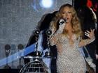 Mariah Carey abusa da transparência em premiação