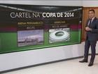 Andrade Gutierrez admite cartel em obras de estádios para Copa de 2014