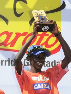 Edwin Kipsang, vencedor da 24ª Dez Milhas Garoto (Foto: Nestor Miller/Jornal A Gazeta)