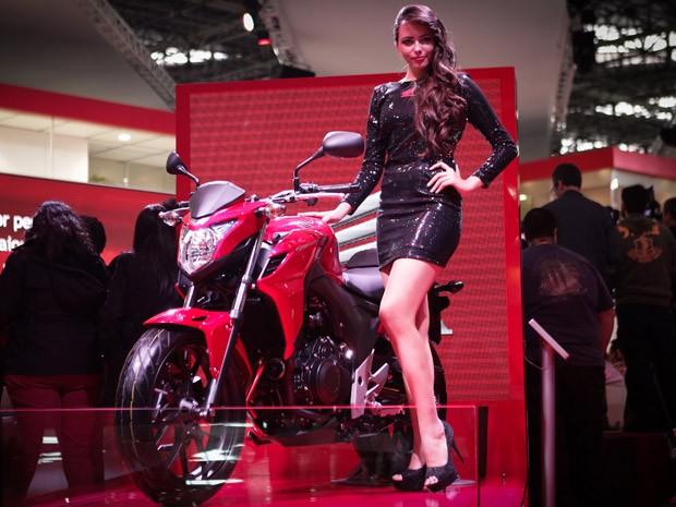 Honda CB 500 (Foto: Caio Kenji/G1)