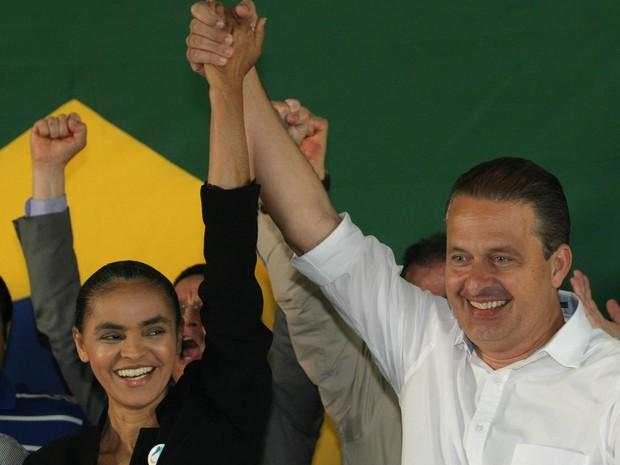 Marina Silva se filia ao PSB de Eduardo Campos (Foto: DIDA SAMPAIO/ESTADÃO CONTEÚDO)