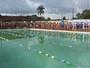 Mais de 60 nadadores participam de torneio em Mazagão, no Amapá